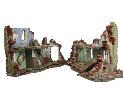 Diorama-set for Ruined Building 2