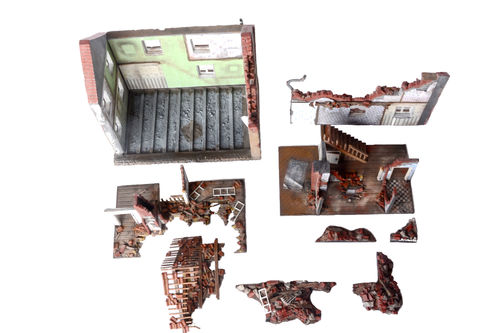 Diorama-set for Ruined Building 3