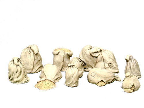 Set of corn sacks