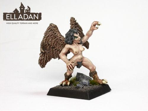 Harpy 2, fighting