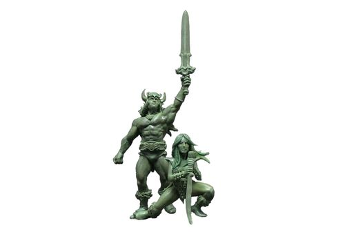 32mm Barbarian Couple